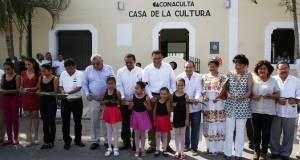Aumentan Casas de la Cultura en Yucatán