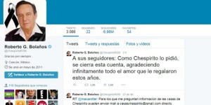 Cierran cuenta de @ChespiritoRGB en Twitter
