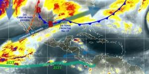 Temperaturas bajas y probabilidad de heladas en zonas altas del norte y centro de México