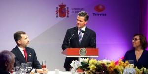 Los medios de comunicación son forjadores de nuestras democracias: Enrique Peña Nieto