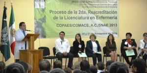 Recibe UJAT evaluadores para segunda reacreditación de Licenciatura en Enfermería