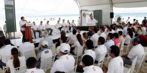 """Pone en marcha el gobernador en Quintana Roo el operativo nacional """"Playa en Regla"""" Invierno 2014"""