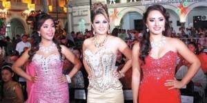 Dalin Vianey Reina del Carnaval de Veracruz 2015