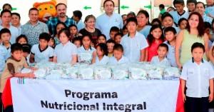 Atención directa a la alimentación de la niñez vulnerable en Yucatán