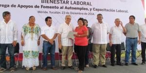 Acercan Programa de Empleo Temporal a comisarías de Mérida