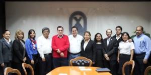 Se reúne Alcalde con Consorcio Universitario de Coatzacoalcos