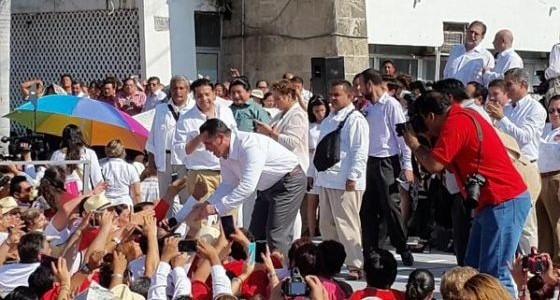 Alejandro Moreno Cardenas candidato de unidad Campeche