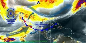 Se mantiene ambiente frio desde el Norte hasta las zonas altas del Sureste de México