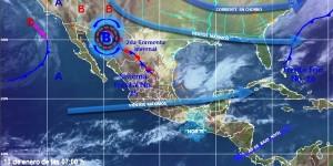 Durante las próximas horas continuara el ambiente frio en gran parte de México