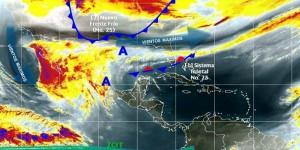 Genera Frente Frio 23 lluvias muy fuertes en Veracruz, Tabasco y Chiapas