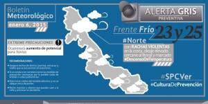 Continuarán condiciones adversas en Veracruz por frentes fríos 23 y 25: PC