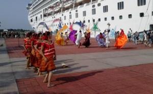 Llega primer crucero del año a Puerto Chiapas