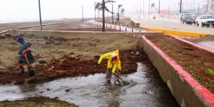 Limpia y desazolva Ayuntamiento de Coatzacoalcos Malecón Costero