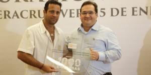 Agradece Slim Seade apoyo del Gobierno de Veracruz para inversiones