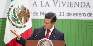 Viviendas propias y dignas para las familias mexicanos: Enrique Peña Nieto