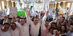 Unidos haremos una gran campaña para ganar en Mérida: Nerio Torres Arcila