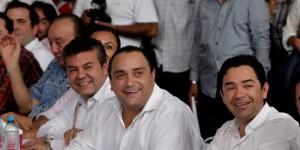 Festeja el gobernador Roberto Borge y el sindicato de Taxistas de Playa del Carmen 35 Aniversario