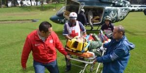 Rescata Fuerza Civil a alpinistas extranjeros en el Pico de Orizaba