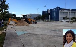 Arranca construcción de un domo deportivo en la UT Cancún
