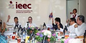 Aprueba IEEC tope máximo de gastos de campaña para el proceso electoral Campeche 2015