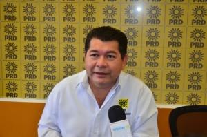 No cederá el PRD en Tabasco a chantajes por candidaturas: Candelario Pérez