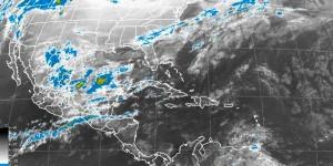 Frente frio 26 trae lluvias al Sureste y Península de Yucatán