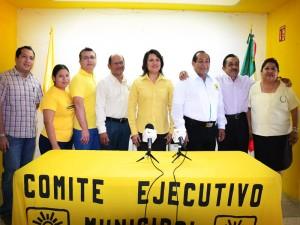 Los aspirantes del PRD a diputados locales y alcaldes en Campeche
