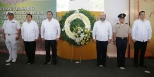 Conmemoran XCVIII aniversario de la promulgación de la Constitución