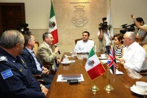 El Ayuntamiento de Mérida busca estrechar vínculos con Gran Bretaña