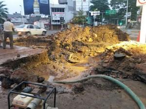 Sin agua potable colonias del centro en la capital de Tabasco