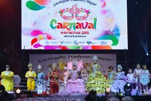 Leilani y Javier, Reyes Infantiles del Carnaval Veracruz 2015