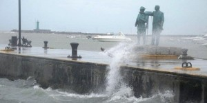 El Puerto de Veracruz cerrado por Norte