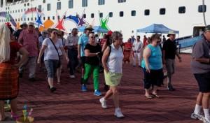 Arriban cruceros a Puerto Chiapas