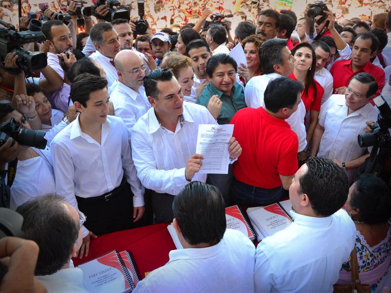 Campeche Alejandro Moreno candidato