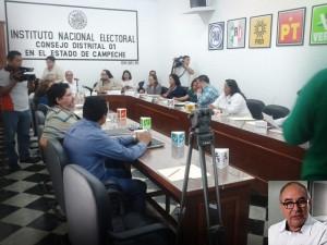 No se ha detectado turistas electorales en Campeche: INE