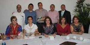 Se reúnen Diputados de Tabasco con el presidente de CONALPRI