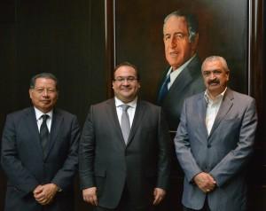 Se reúne gobernador Javier Duarte con Subsecretario de Educación Superior
