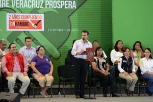 El Gobierno de la República apoya y respalda a Veracruz: Enrique Peña Nieto