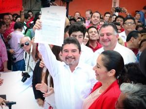 Edgar Hernández precandidato a la presidencia municipal de Campeche