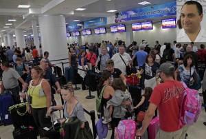 Va Quintana Roo por nuevo record de visitantes con más infraestructura aeroportuaria y promoción: Roberto Borge