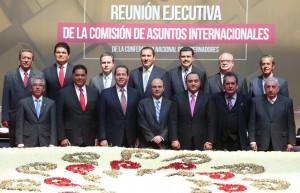 Participa el gobernador Roberto Borge en la reunión de Asuntos Internacionales de la CONAGO