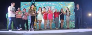 Presentan candidatas y candidatos a la Corte Real del Carnaval Coatza 2015