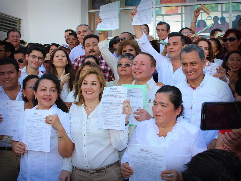 precandidatos del PRI a diputacion local Campeche