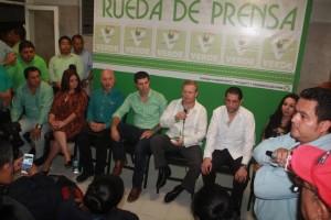El PVEM está abierto para todos en Tabasco: Arturo Escobar y Vega