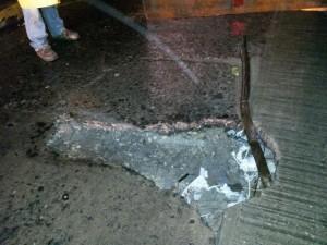 A tener precaución ante hundimiento en calles del centro en la capital de Tabasco: SAS