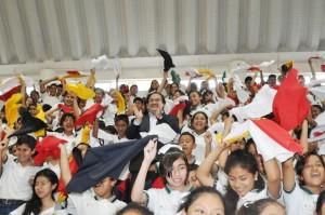 Anuncia Javier Duarte 610 mdp para rehabilitación de escuelas
