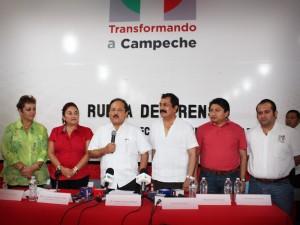 El primer minuto de este 14 de marzo, Alejandro Moreno Cárdenas inicia campaña en Campeche: Brito Herrera