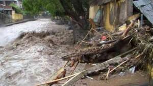 Lluvias dejan 34 comunidades incomunicadas en Veracruz