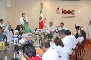 Multa IEE Campeche al PRD, PT Y Encuentro Social