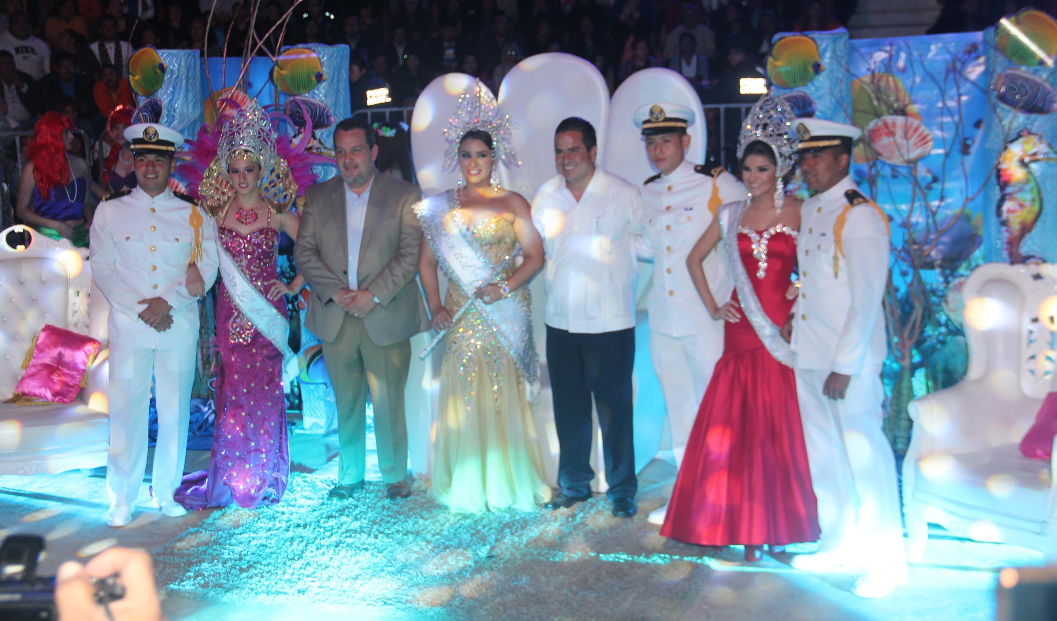 coronacion de los reyes del carnaval coatza 2015
